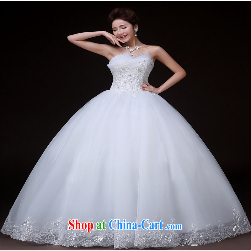 Products hannizi 2015 spring and summer elegant stylish and simple Korean Beauty graphics thin tail bridal wedding white XXL