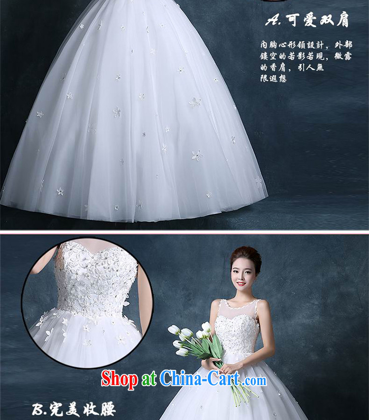 09ba794755fd Angel year 2015 new autumn and winter version Korea shoulders with  transparent manual tread lace white