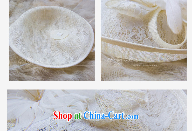 Water dance bridal retro hat feather buds mesh cap head-dress wedding dresses accessories B 0757 gift boxed pictures, price, brand platters! Elections are good character, the national distribution, so why buy now enjoy more preferential! Health