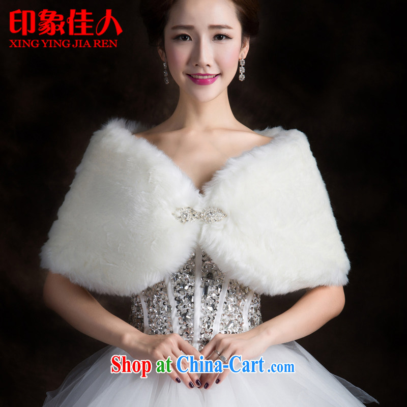Impression Leigh 2015 new Rabbit Koosh shawl bridal wedding shawl wedding dresses shawl white autumn and winter white