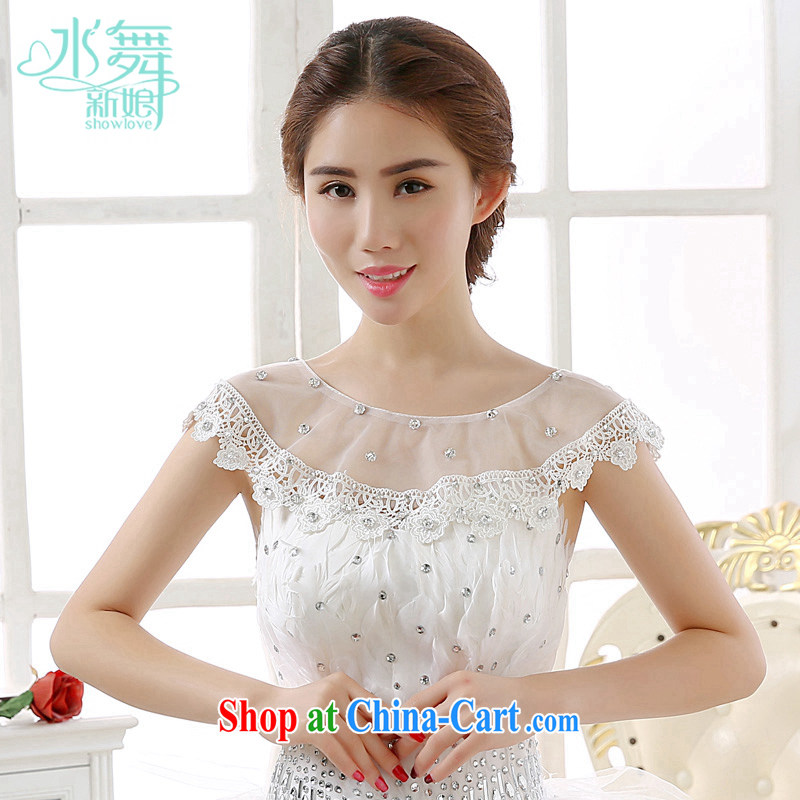 Water dance bridal lace lace parquet water drilling marriage summer shawls, wedding a field shoulder P 0080 yarn bag